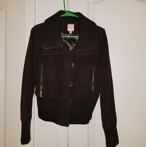 (3 FOR $20) Candies wool jacket size medium